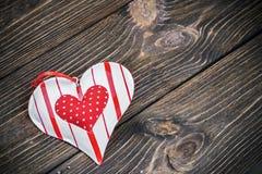 Giocattolo decorativo del cuore Immagine Stock