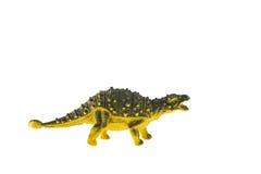 Giocattolo dei dinosauri del Ankylosaurus Immagini Stock