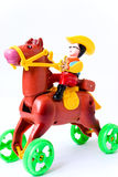 Giocattolo del cavallo Fotografia Stock Libera da Diritti