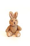 Giocattolo del coniglietto del Brown Immagini Stock Libere da Diritti