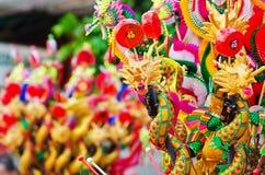 Giocattolo del drago in Tailandia Fotografie Stock