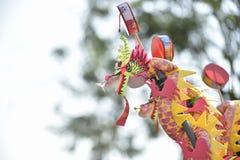 giocattolo del fronte di carnevale; leone tradizionale cinese di dancing; Giocattolo cinese Immagine Stock Libera da Diritti