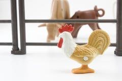 Giocattolo del gallo Fotografia Stock
