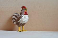 Giocattolo del gallo rubinetto Anno di gallo Fotografia Stock Libera da Diritti