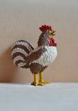 Giocattolo del gallo rubinetto Anno di gallo Immagini Stock Libere da Diritti