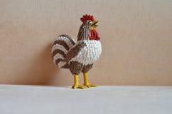 Giocattolo del gallo rubinetto Anno di gallo Immagine Stock