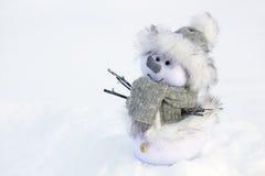Giocattolo del pupazzo di neve illustrazione vettoriale