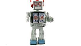 Giocattolo del robot video d archivio