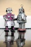 Giocattolo del robot Immagini Stock Libere da Diritti