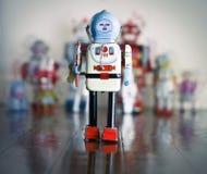 Giocattolo del robot Fotografie Stock