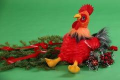 Giocattolo del ` s dei bambini del gallo Fotografia Stock Libera da Diritti