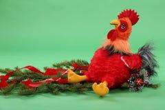 Giocattolo del ` s dei bambini del gallo Fotografie Stock