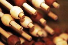 Giocattolo del ` s del bambino, puzzle di legno Fotografie Stock Libere da Diritti