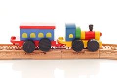 Giocattolo del treno Immagini Stock
