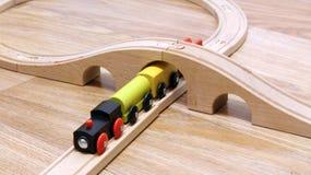 Giocattolo del treno Fotografia Stock