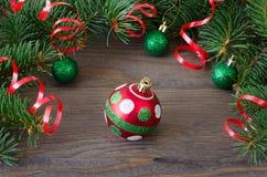 Giocattolo dell'albero di Natale Immagine Stock Libera da Diritti