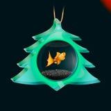 Giocattolo dell'albero di Natale Fotografia Stock