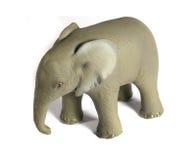 Giocattolo dell'elefante Fotografia Stock