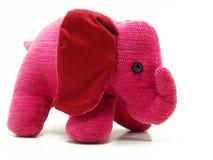 Giocattolo dell'elefante dentellare Fotografia Stock