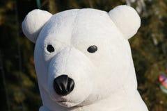 Giocattolo dell'orso bianco Immagini Stock Libere da Diritti
