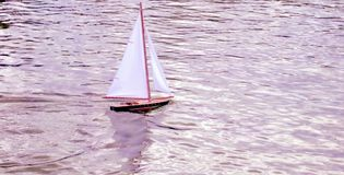 Giocattolo della barca Fotografia Stock Libera da Diritti