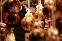 Giocattolo della decorazione di Natale Fotografie Stock