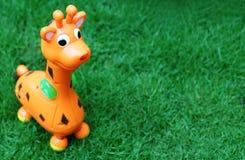 Giocattolo della giraffa Fotografie Stock Libere da Diritti