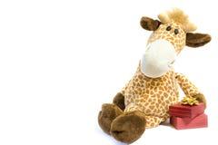 Giocattolo della giraffa Fotografie Stock