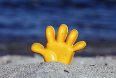 Giocattolo della spiaggia Immagini Stock