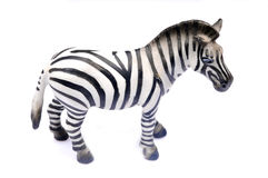 Giocattolo della zebra immagini stock libere da diritti