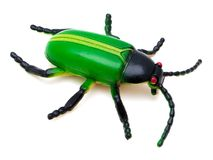 Giocattolo dello scarabeo Immagini Stock