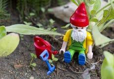 Giocattolo di Gnome Fotografia Stock Libera da Diritti