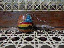 Giocattolo di legno fatto a mano Immagini Stock Libere da Diritti