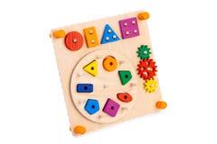 Giocattolo di legno per i bambini fotografie stock libere da diritti