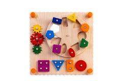 Giocattolo di legno per i bambini immagine stock libera da diritti