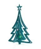 Giocattolo di Natale con le stelle isolate Fotografia Stock Libera da Diritti