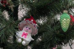 Giocattolo di Natale dell'albero di Natale Fotografie Stock