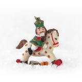 Giocattolo di Natale - schiaccianoci a cavallo Immagini Stock Libere da Diritti