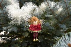 Giocattolo di Natale sotto forma di angelo Fotografia Stock Libera da Diritti