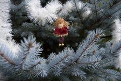 Giocattolo di Natale sotto forma di angelo Immagini Stock Libere da Diritti