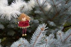 Giocattolo di Natale sotto forma di angelo Immagini Stock