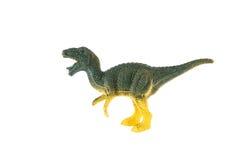 Giocattolo di plastica del dinosauro, rex di tirannosauro Fotografie Stock Libere da Diritti