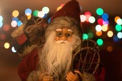Giocattolo di Santa Claus Fotografia Stock
