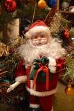 Giocattolo di Santa Claus del nuovo anno Fotografie Stock