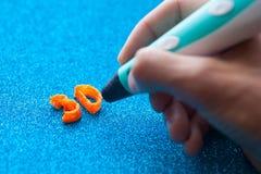 giocattolo moderno della maniglia 3d Fotografia Stock