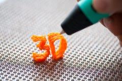 giocattolo moderno della maniglia 3d Fotografia Stock Libera da Diritti