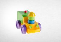 Giocattolo o giocattolo dell'automobile sui precedenti Immagine Stock