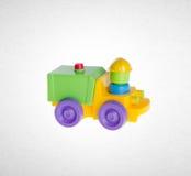 Giocattolo o giocattolo dell'automobile sui precedenti Fotografie Stock Libere da Diritti