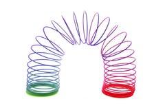 Giocattolo Slinky Fotografie Stock Libere da Diritti