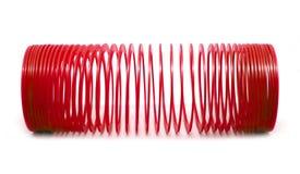 Giocattolo sping rosso Fotografia Stock